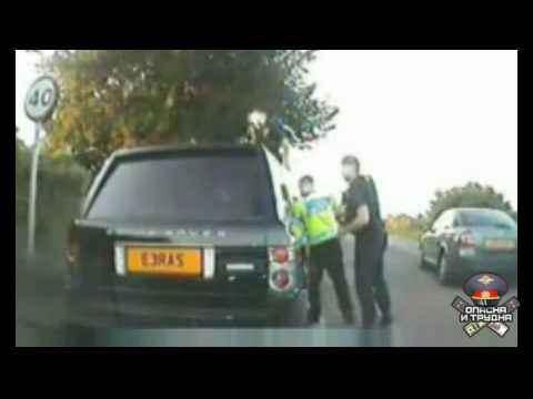 Полисмены разбили авто пенсионера
