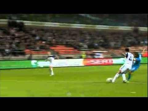 Андерлехт   Зенит 1 - 3 Кержаков  три гола  16.09.2010