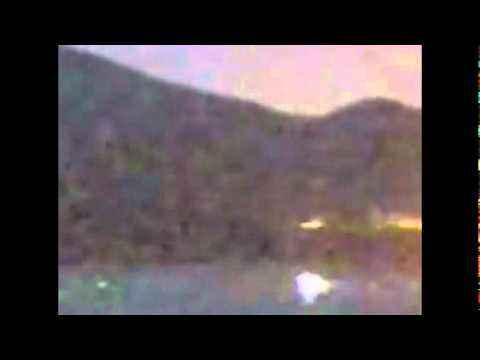 НЛО над вулканом в Японии 04 04 2011