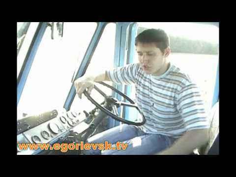 Top Gear по Егорьевски (Трактор Т150К)