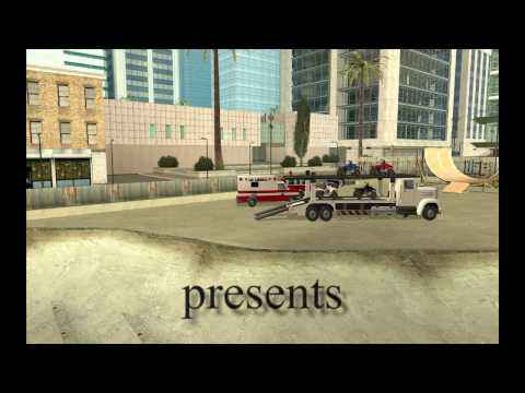 GTA SA:MP трюки на квадрацикле