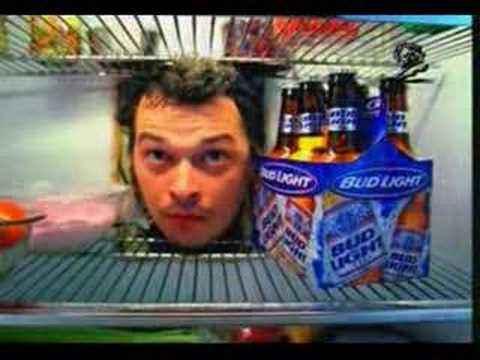 Смешная реклама: Между мужиками и пивом стена