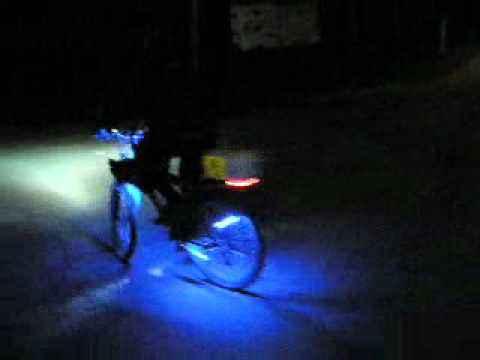 светодиоды на велосипеде, мой тюнинг