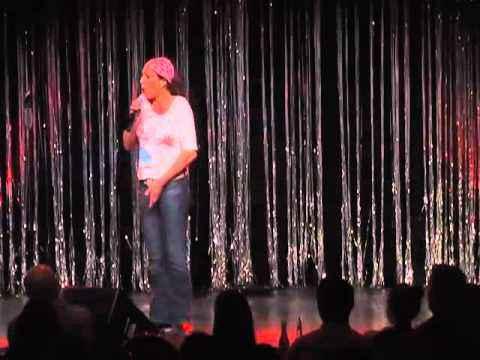 Andrea Volk in der Talentschmiede des Quatsch Comedy Club Feb.2011