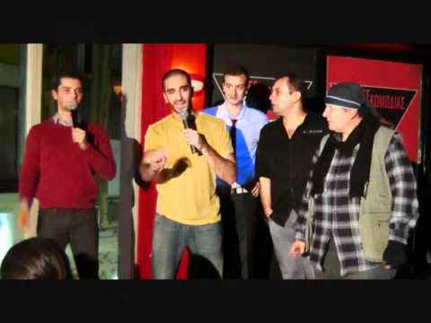 SOTIRIS KORDAS ??? COMEDY CLUB, 2011 (stand up comedy)