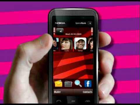 Видео-обзор мобильного телефона Nokia 5530 XpressMusic