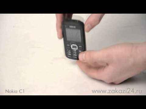 Мобильный телефон Nokia C1 - 02