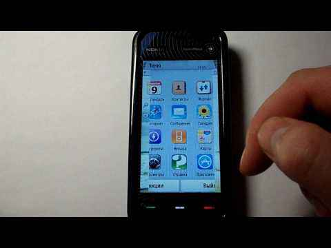 Обзор Nokia 5800 - Прошивка, ощущения от телефона