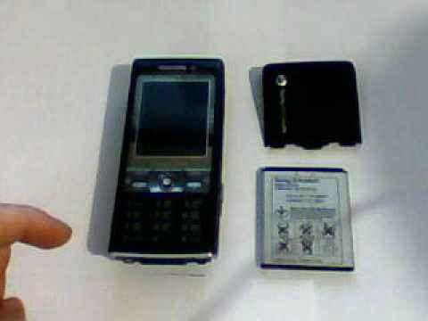 Видео обзор телефона Sony Ericsson k800i Часть-1
