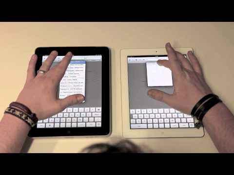 iPad 2 zu iPad 1 Geschwindigkeitsvergleich (by arktis.de)