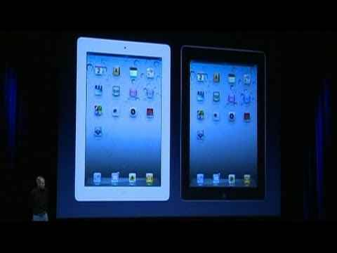 Jobs unveils iPad 2