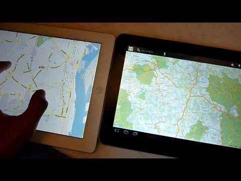 Samsung Galaxy Tab 10.1 Kurztest und iPad 2 Vergleich