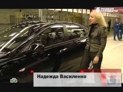 Hyundai Solaris в программе Первая передача на НТВ
